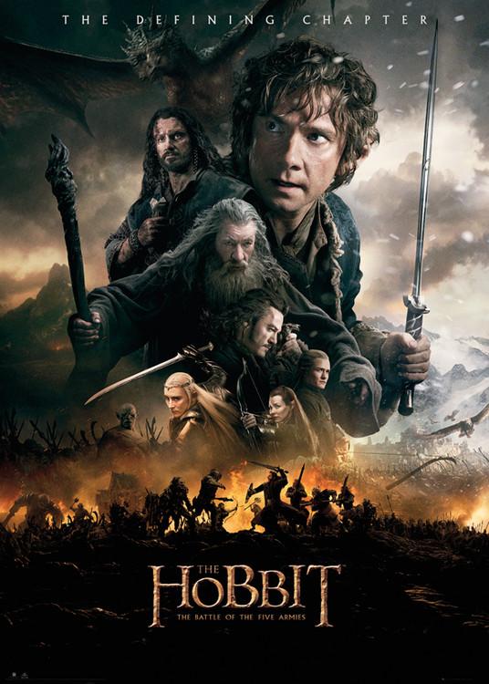 Posters Plakát, Obraz - Hobit 3: Bitva pěti armád - Fire, (100 x 140 cm)