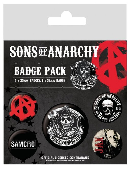 Posters Placka Sons of Anarchy (Zákon gangu)