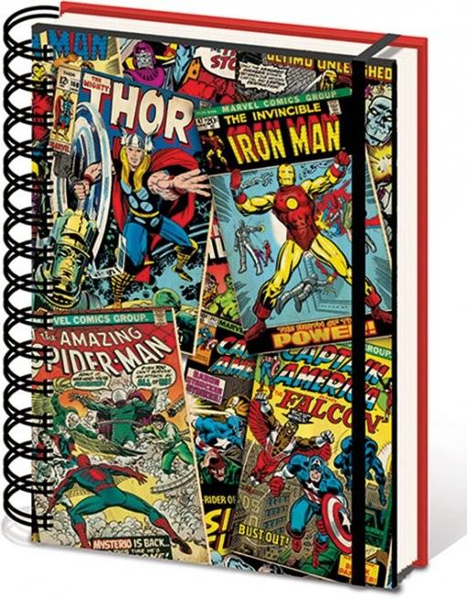 Posters Marvel A5 Notebook - Lenticular Psací potřeby