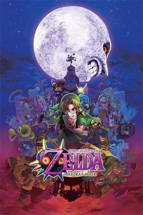 Posters Plakát, Obraz - The Legend Of Zelda - Majora's Mask, (61 x 91,5 cm)