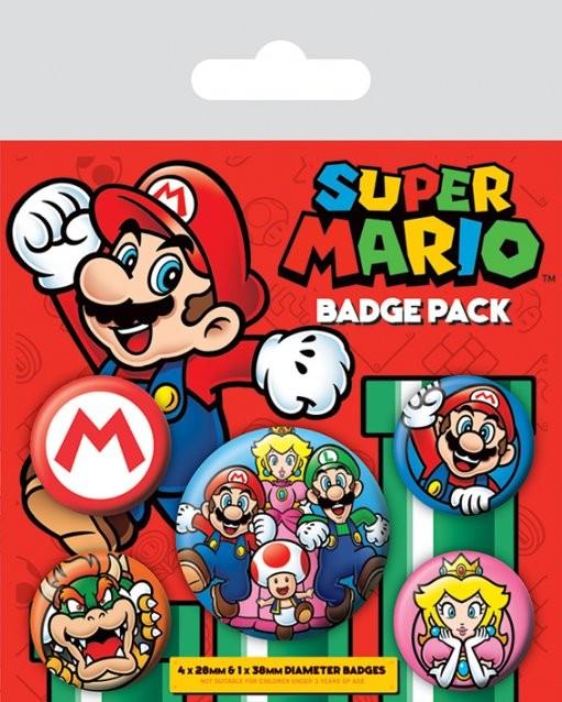 Posters Placka Super Mario