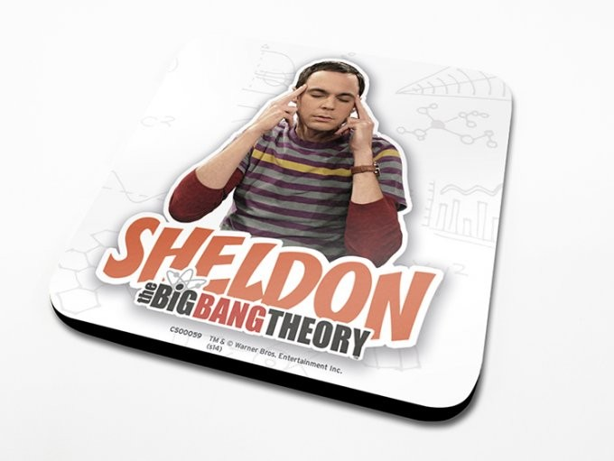 Posters Podtácek The Big Bang Theory (Teorie velkého třesku) - Sheldon
