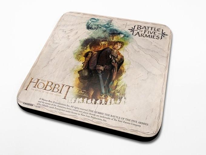Posters Podtácek Hobit 3: Bitva pěti armád - Bilbo