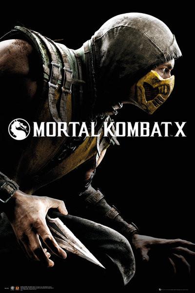 Posters Plakát, Obraz - Mortal Kombat X - Cover, (61 x 91,5 cm)