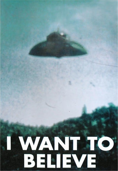 Posters Plakát, Obraz - X-FILES - i want to believe, (61 x 91,5 cm)