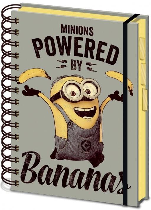 Posters Mimoni (Já, padouch) - Powered by Bananas A5 Psací potřeby