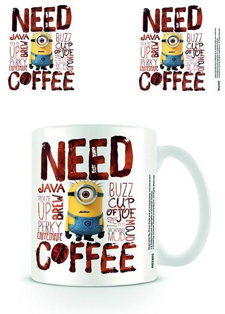 Posters Hrnek Mimoni (Já, padouch) - Need Coffee