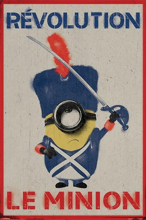 Posters Plakát, Obraz - Mimoni (Já, padouch) - Revolution Le Minion, (61 x 91,5 cm)