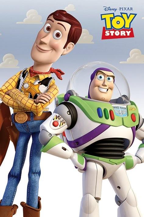Posters Plakát, Obraz - Toy Story 3: Příběh hraček - Woody & Buzz, (61 x 91,5 cm)
