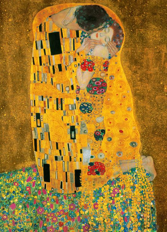 Posters Fototapeta GUSTAV KLIMT - Polibek, 1907-1908, (183 x 254 cm)