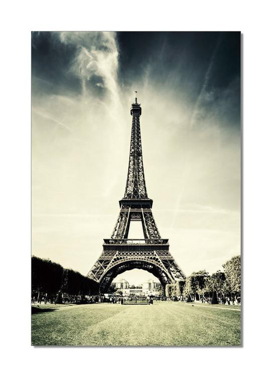Posters Obraz Paříž - Eiffelovka, (80 x 120 cm)