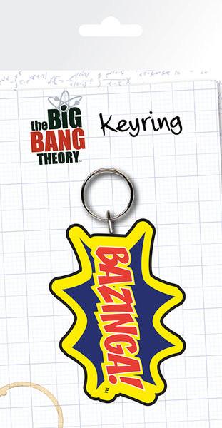 Posters Klíčenka The Big Bang Theory (Teorie velkého třesku) - Bazinga