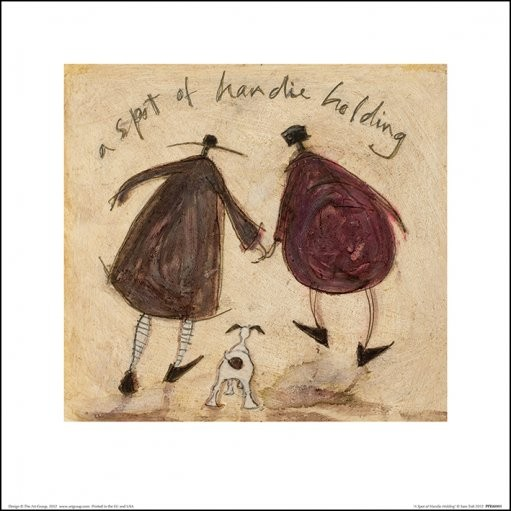 Posters Reprodukce Sam Toft - A Spot of Handie Holding, (30 x 30 cm)