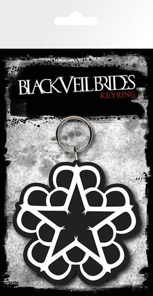 Posters Klíčenka Black Veil Brides - Star