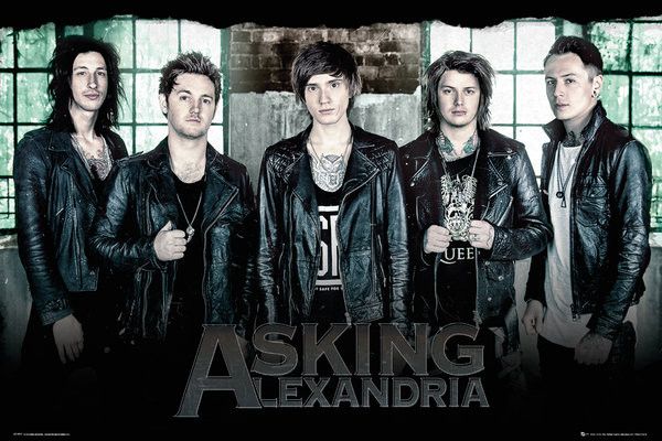Posters Plakát, Obraz - Asking Alexandria - Window, (91,5 x 61 cm)