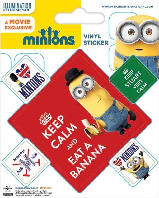 Posters Samolepka Mimoni (Já, padouch) - Keep Calm