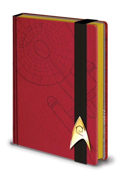 Posters Star Trek - Engineering Red Premium A5 Notebook Psací potřeby