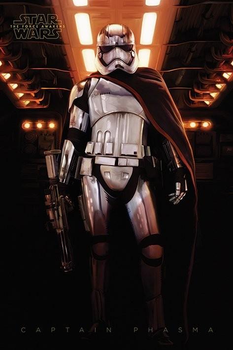 Posters Plakát, Obraz - Star Wars VII: Síla se probouzí - Captain Phasma, (61 x 91,5 cm)