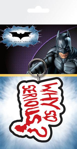 Posters Klíčenka Batman - The Dark Knight Joker Why So Serious