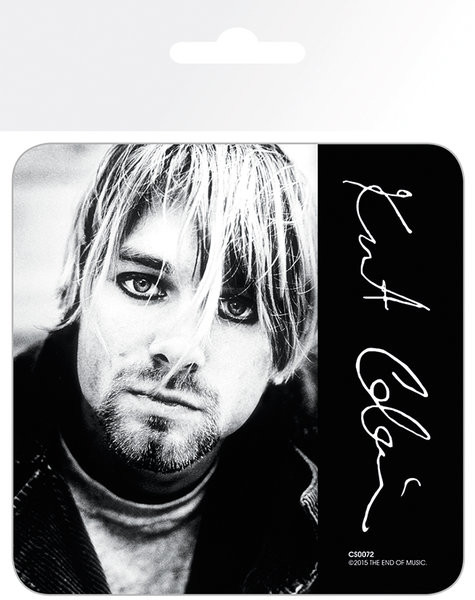 Posters Podtácek Kurt Cobain - Signature