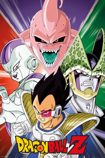 Posters Plakát, Obraz - Dragon Ball Z - Villains, (61 x 91,5 cm)