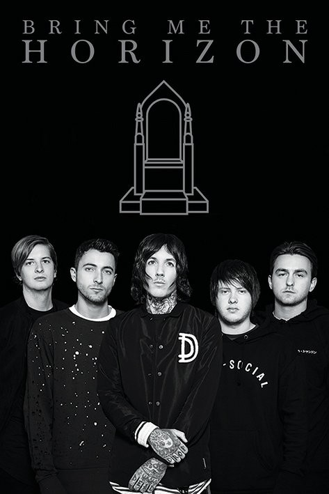 Posters Plakát, Obraz - Bring Me The Horizon - Band, (61 x 91,5 cm)