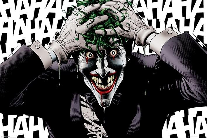 Posters Plakát, Obraz - The Joker - Killing Joke, (91,5 x 61 cm)