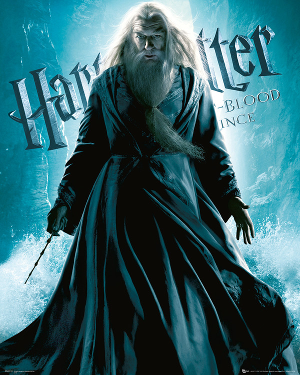 Posters Reprodukce Harry Potter a Princ dvojí krve - Albus Brumbál, (40 x 50 cm)