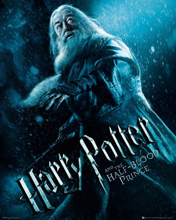 Posters Reprodukce Harry Potter a Princ dvojí krve - Albus Brumbál, (60 x 80 cm)