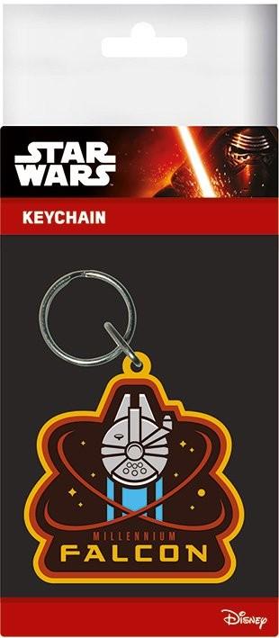 Posters Klíčenka Star Wars VII: Síla se probouzí - Millenium Falcon