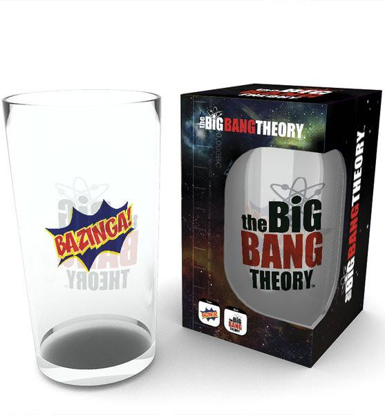 Posters Sklenice The Big Bang Theory (Teorie velkého třesku) - Bazinga