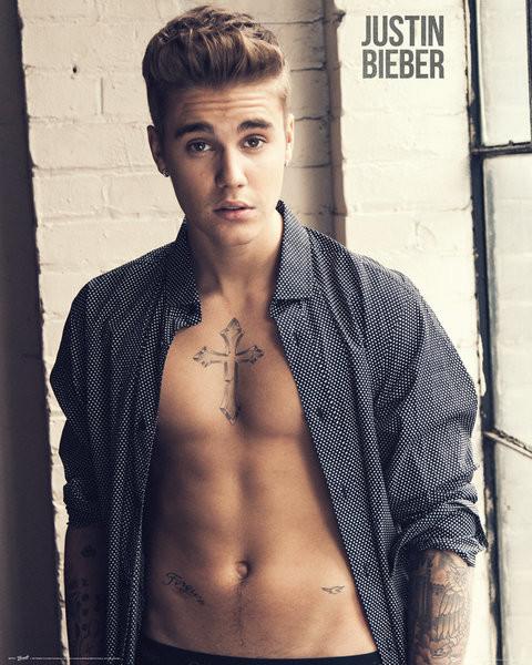 Posters Plakát, Obraz - Justin Bieber - Shirt, (40 x 50 cm)
