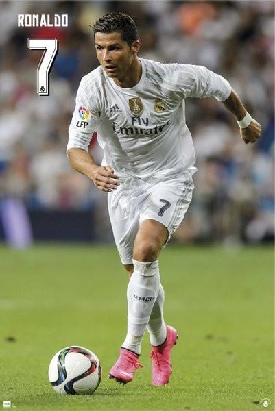 Posters Plakát, Obraz - Real Madrid CF - Ronaldo 15/16, (61 x 91,5 cm)