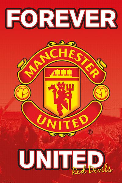Posters Plakát, Obraz - Manchester United FC - Forever 15/16, (61 x 91,5 cm)