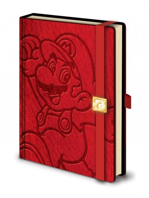 Posters Mario - A5 Premium notebook Psací potřeby