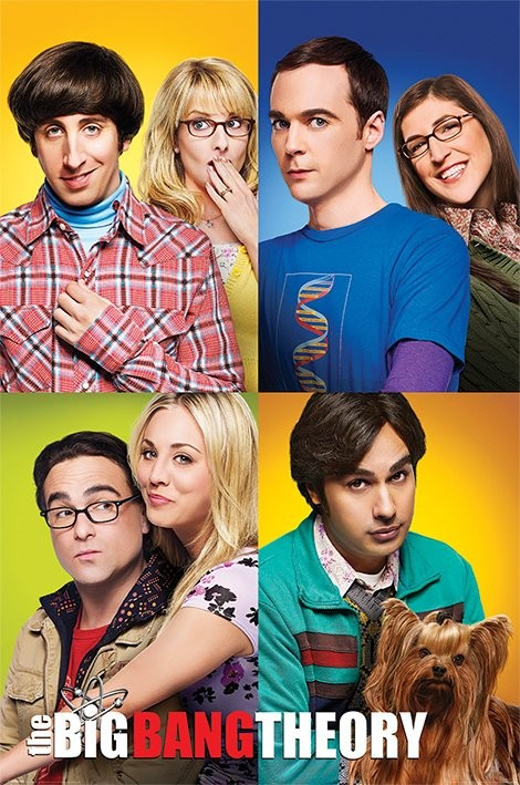 Posters Plakát, Obraz - The Big Bang Theory (Teorie velkého třesku) - Blocks, (61 x 91,5 cm)