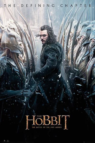Posters Plakát, Obraz - Hobit 3: Bitva pěti armád - Luke Evans, ( x cm)