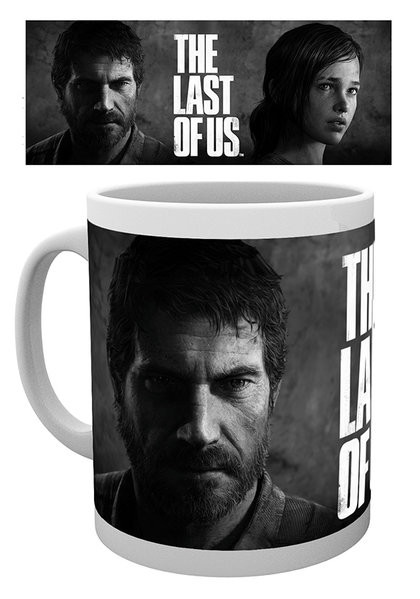 Posters Hrnek The Last of Us - Black And White