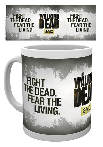 Posters Hrnek The Walking Dead - Fight the dead