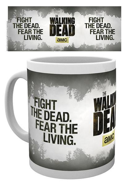 Posters Hrnek The Walking Dead - Fight the dead