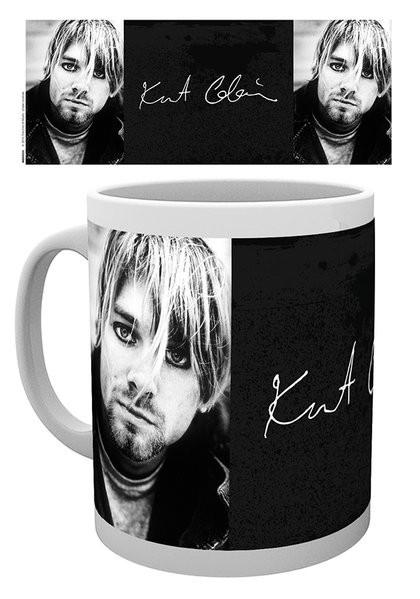 Posters Hrnek Kurt Cobain - Signature
