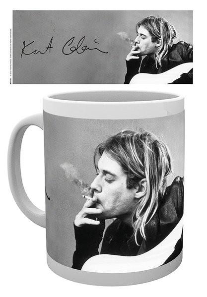 Posters Hrnek Kurt Cobain - Smoking