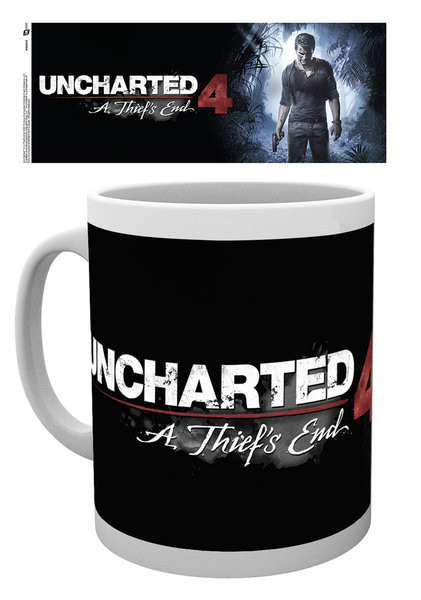 Posters Hrnek Uncharted 4 - A Thief's End