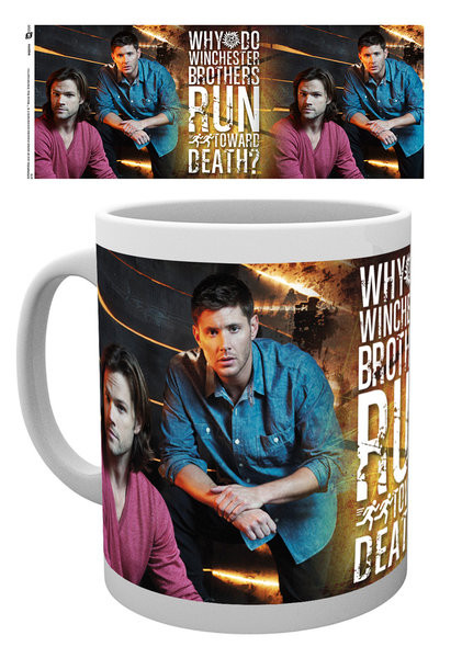 Posters Hrnek Lovci duchů - Sam and Dean