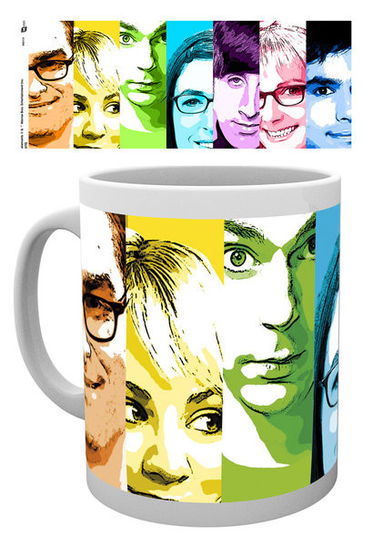 Posters Hrnek The Big Bang Theory (Teorie velkého třesku) - Rainbow