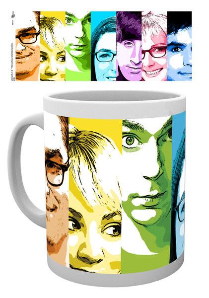 Posters Hrnek The Big Bang Theory (Teorie velkého třesku) - Rainbow