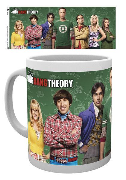 Posters Hrnek The Big Bang Theory (Teorie velkého třesku) - Cast