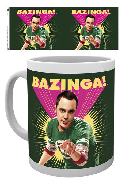 Posters Hrnek The Big Bang Theory (Teorie velkého třesku) - Sheldon Bazinga