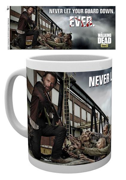 Posters Hrnek The Walking Dead - Rick Guard
