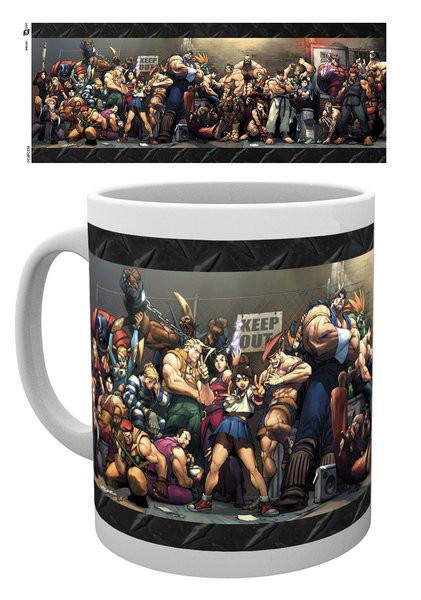 Posters Hrnek Street Fighter - Fight
